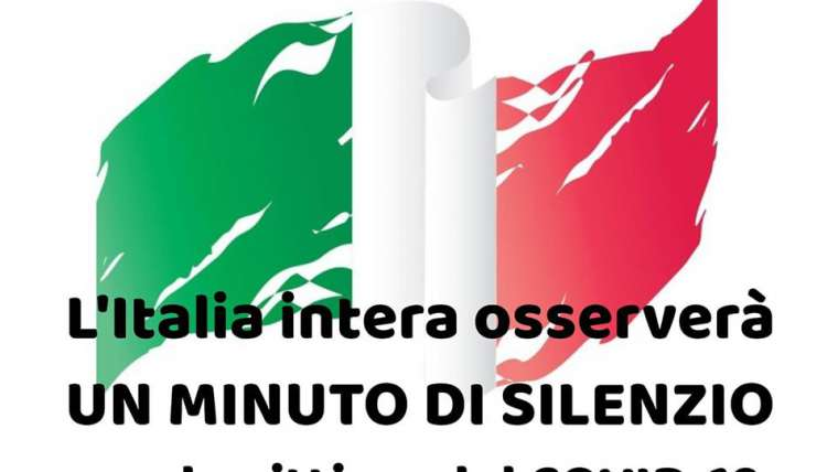 CM09 web radio morbegno un minuto di silenzio per le vittime covid-19 corona virus channel morbegno aps